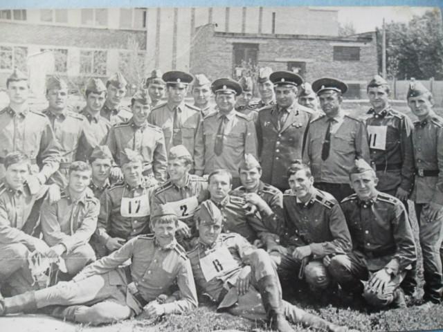 8 рота КРТУ 1974-1977г.