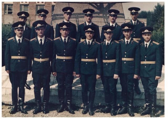 1986 выпуск 2 отделение 103 взвода